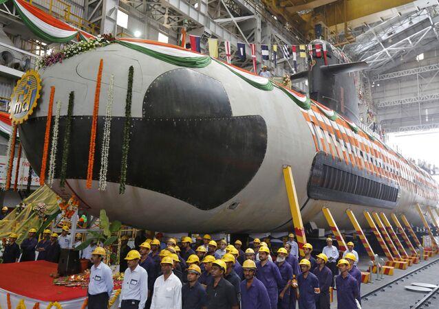 Submarino Scorpene (foto de arquivo)