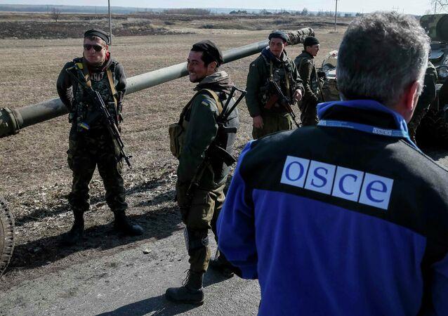 Monitores da OSCE observam aumenta nos conflitos no Leste da Ucrânia