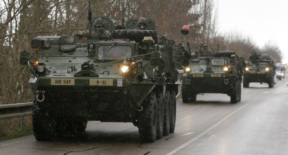 Paraquedistas americanos da 173ª Brigada Aérea chegam à Ucrânia
