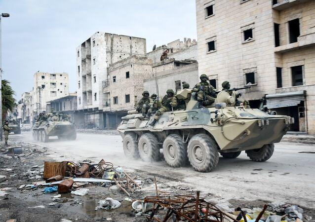 Militares russos na Síria (imagem de arquivo)