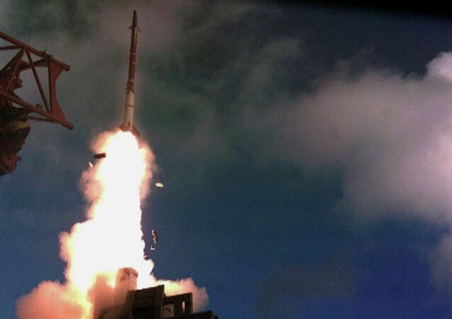 Teste do míssil David Sling