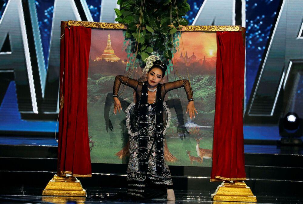 86 tons de beleza: candidatas do Miss Universo em trajes nacionais