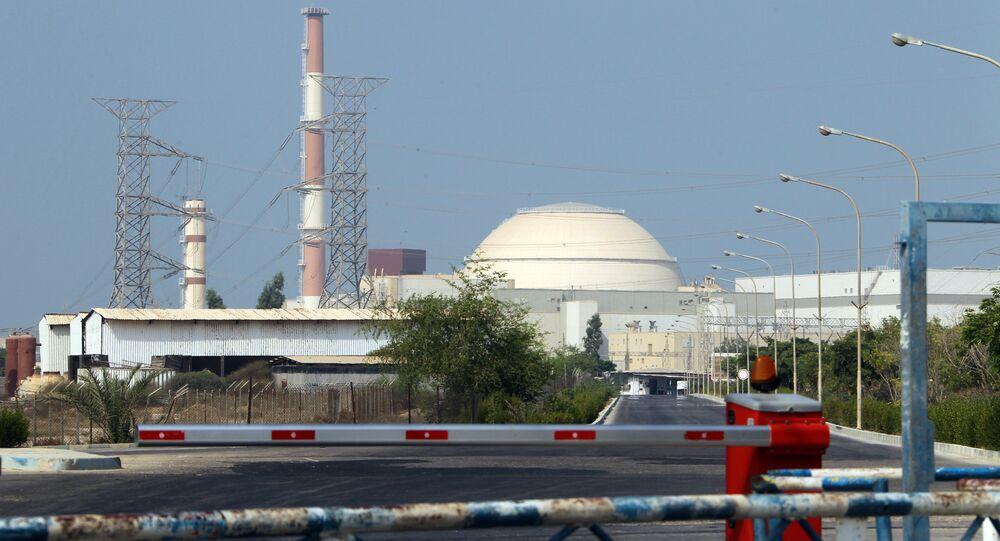 Reator atômico na usina nuclear de Bushehr, no sul do Irã (foto de arquivo)