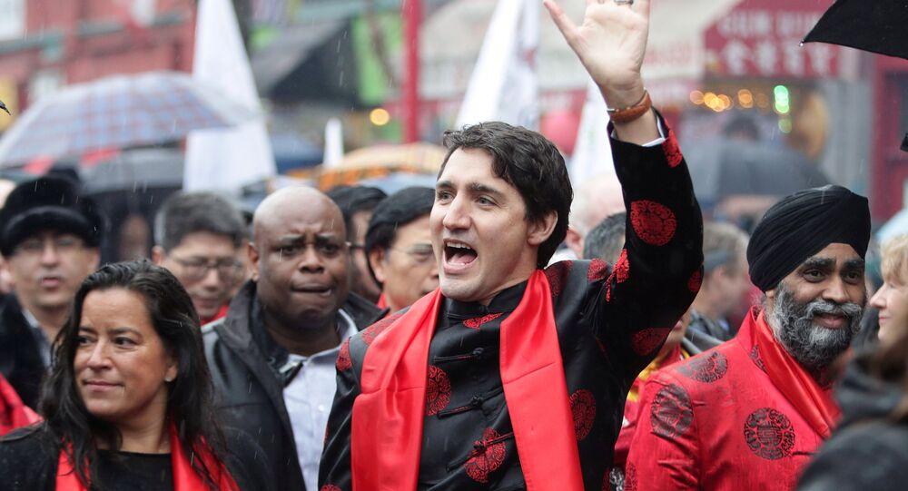 Justin Trudeau comemora Ano Novo Chinês