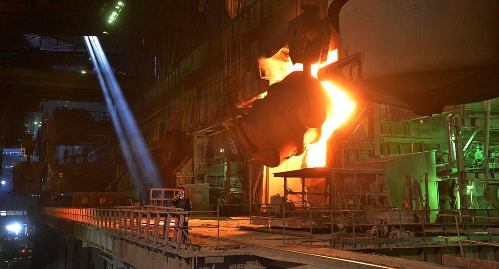 Complexo metalúrgico de Magnitogorsk, Rússia