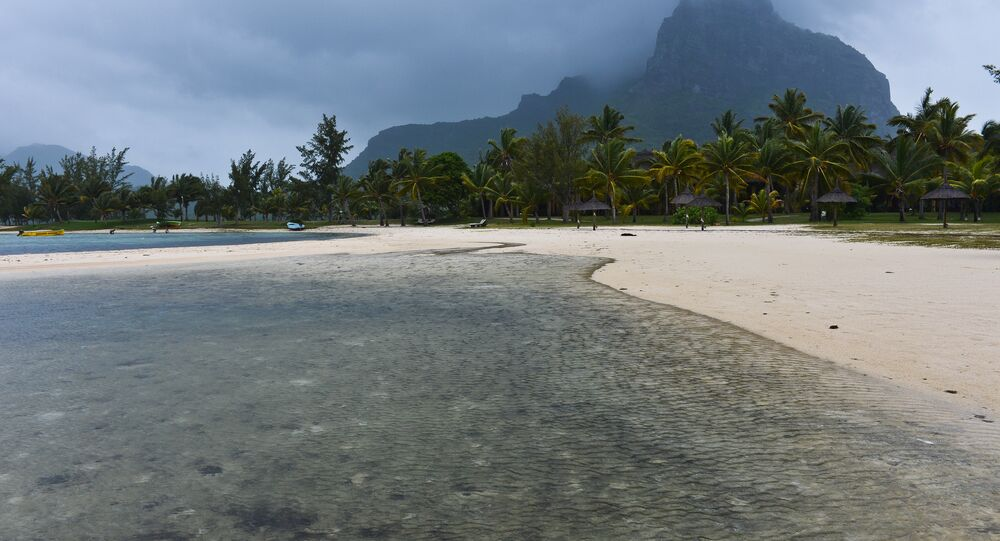 Ilha de Maurício no oceano Índico onde cientistas descobriram rochas antigas