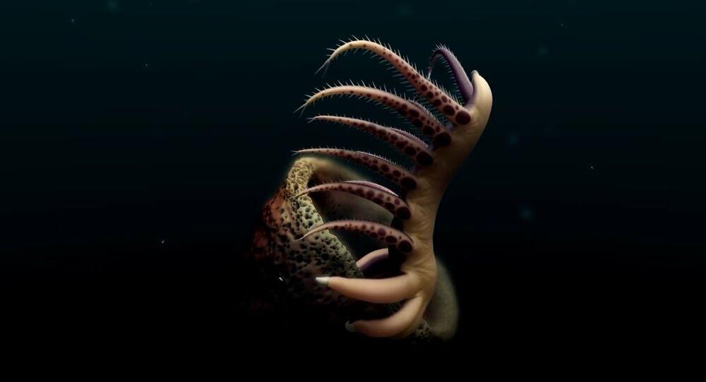 O monstro das águas
