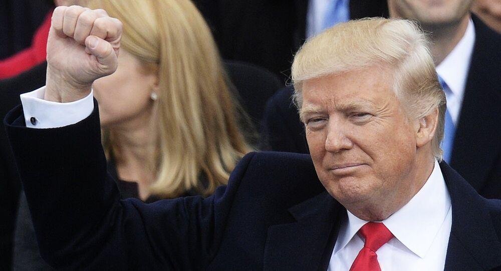 Tomada de posse do presidente eleito dos EUA, Donald Trump, em Washington