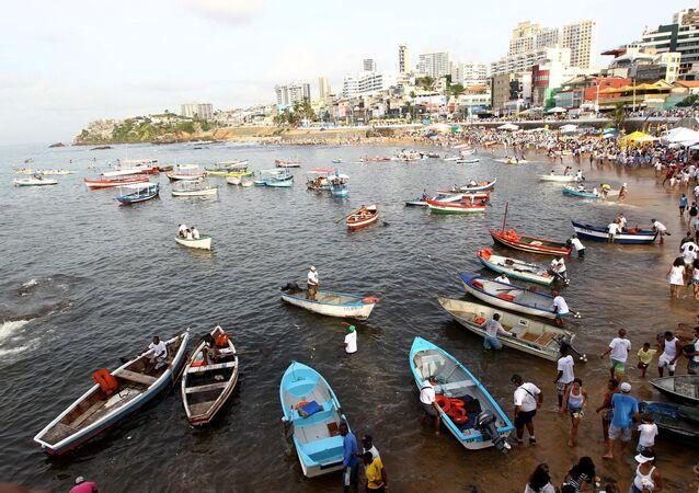 Festa de Iemanjá na Bahia