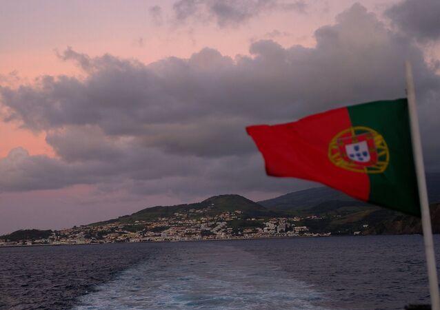 Ilha do Faial, no arquipélago dos Açores