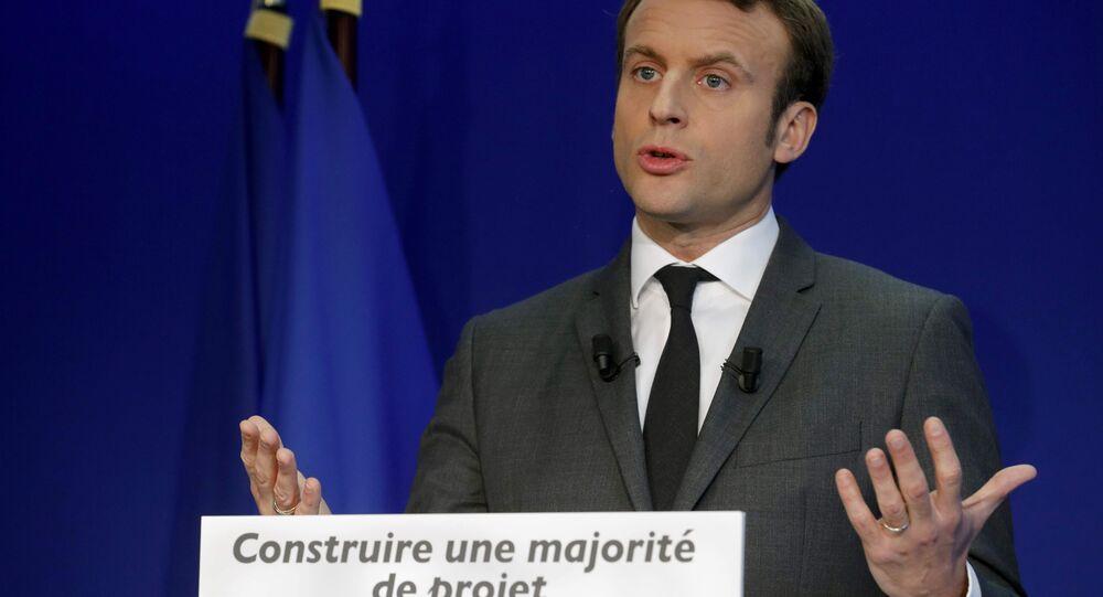Ex-ministro da Economia e candidato independente à presidência francesa, Emmanuel Macron