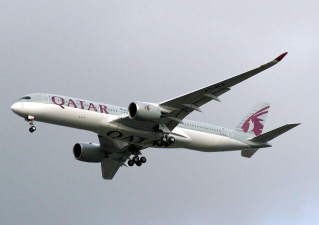 Airbus A350-9 da Qatar Airways