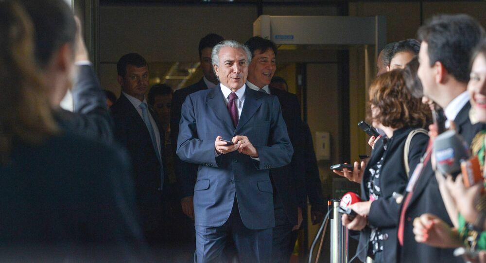 Michel Temer, vice-presidente do Brasil