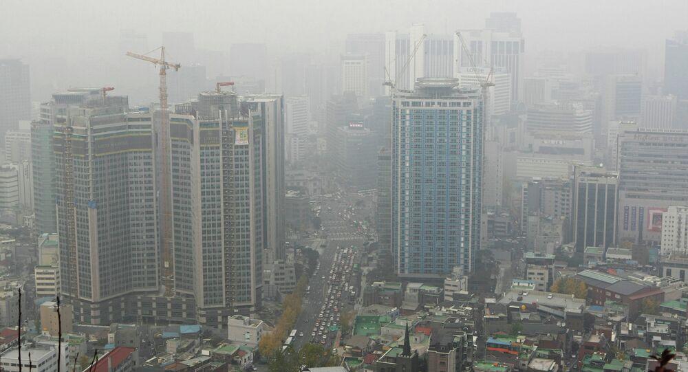 Cidade de Seul, capital da Coreia do Sul