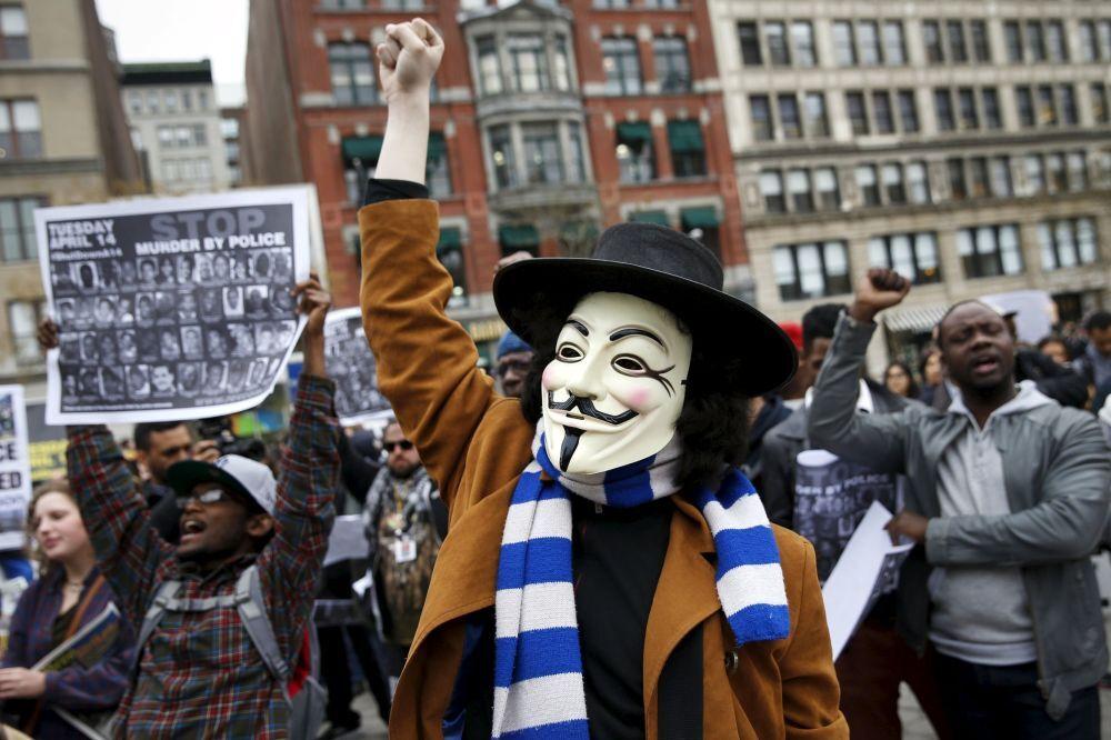 Protestos contra violência policial nos EUA