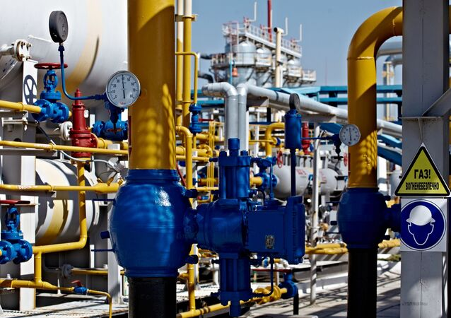 Shebelinka gas processing unit