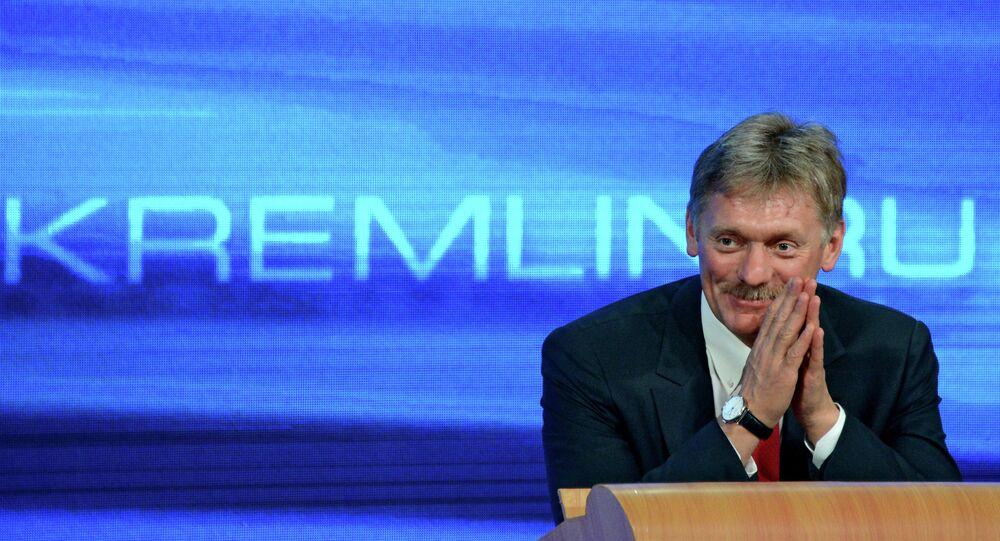 Dmitry Peskov, porta-voz do presidente russo