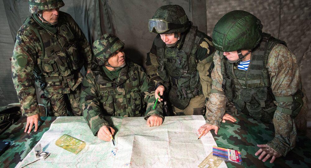 Exercícios militares da Rússia, Bielorrússia e Sérvia, Irmandade Eslava 2016
