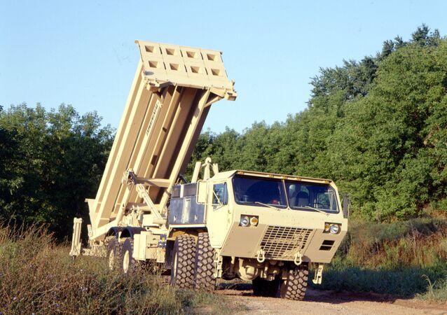 Míssil interceptor do Terminal de Defesa de Área de Grande Altitude (THAAD) do Exército dos EUA virá em breve para a Coreia do Sul