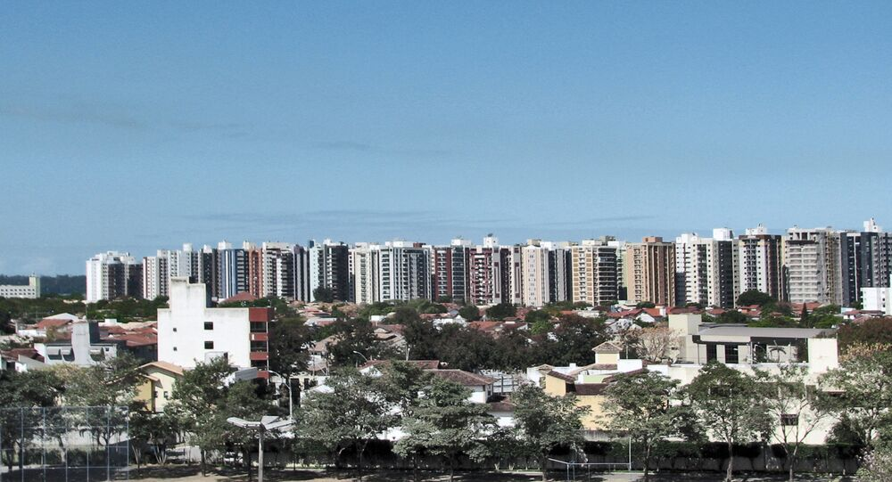 Vista da cidade de Vitória, capital do Espírito Santo (arquivo)