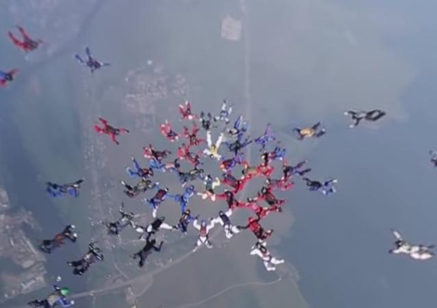 Profissionalismo de paraquedistas russos