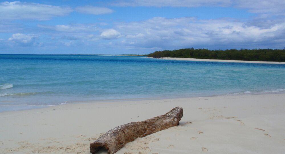 Ilha deserta na Oceania
