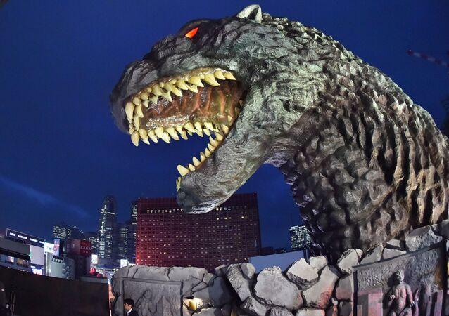 O grande Godzilla da propaganda russa