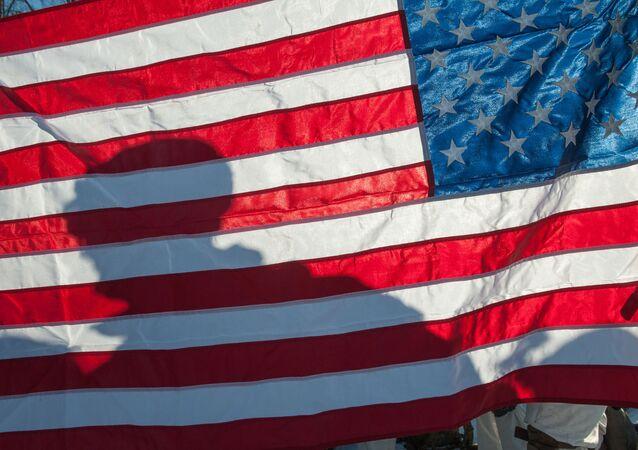 Bandeira dos EUA (foto de arquivo)