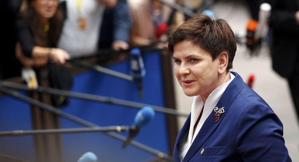 Premiê polonesa, Beata Szydlo