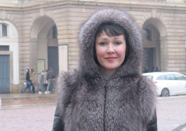 Anna Tuv em Milão