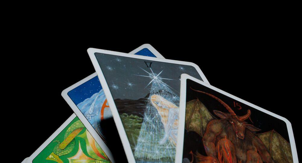 Cartas de tarô, parte integrante do ocultismo moderno