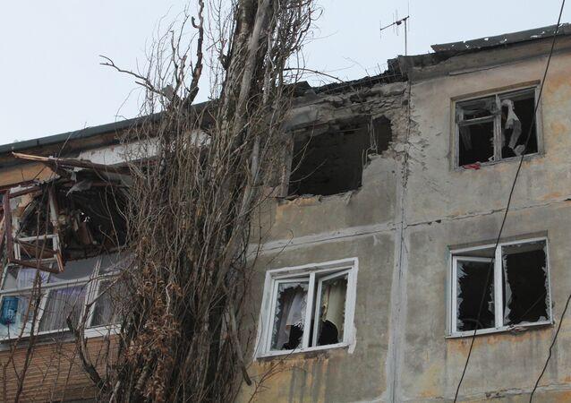 Donetsk atingida por bombardeamentos