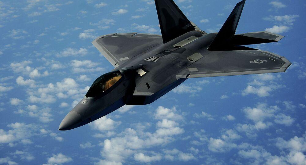 Caça norte-americano F-22 Raptor