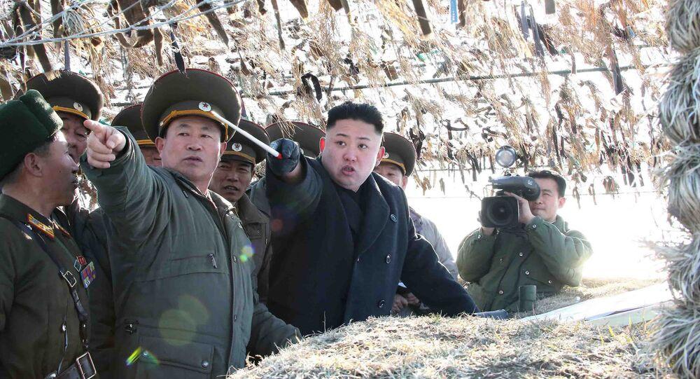 Líder da Coreia do Norte, Kim Jong-un