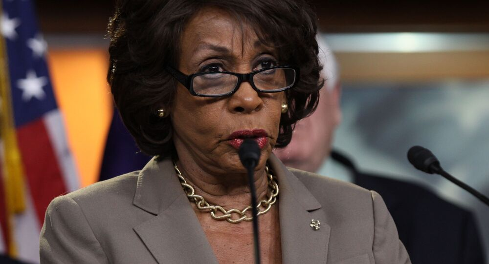 Congressista dos EUA, Maxine Waters (foto de arquivo)