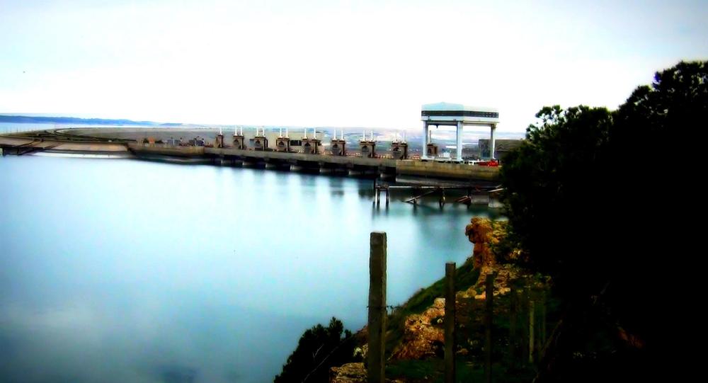 Barragem de Tabqa, no rio Eufrates, Síria
