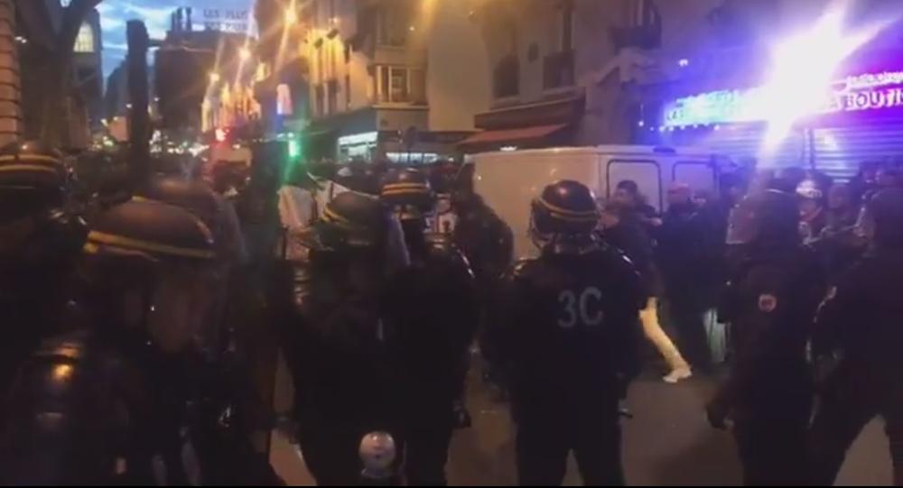 Manifestation Justice pour Théo à Paris