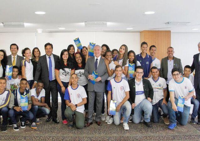 Presidente Michel Temer participa da Cerimônia de Sanção da Lei do Novo Ensino Médio