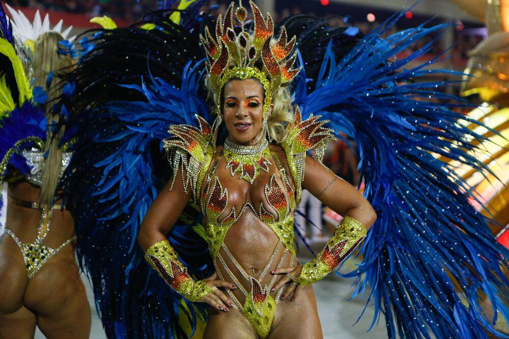 União da Ilha, 11ª colocada no carnaval do ano passado
