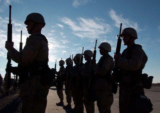 Militares dos EUA.