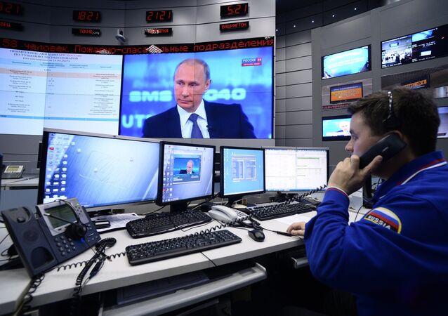 Linha Direta com o presidente Vladimir Putin