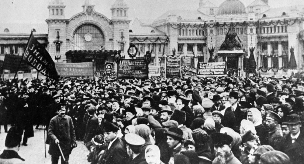 Revolução russa, fevereiro de 1917