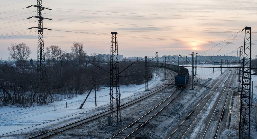 Trens de carga russo (arquivo)