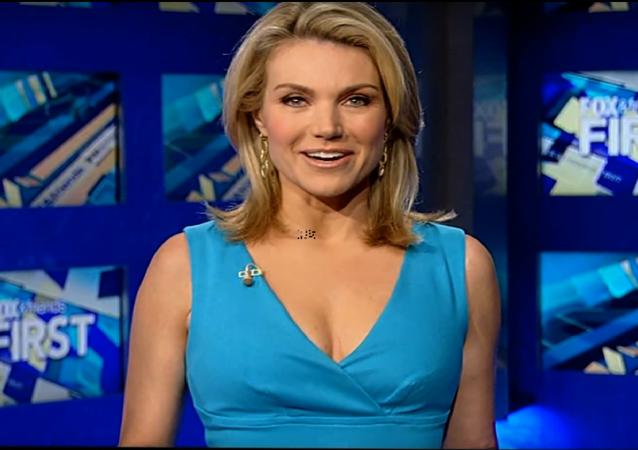 A apresentadora de notícias do canal Fox News, Heather Nauert