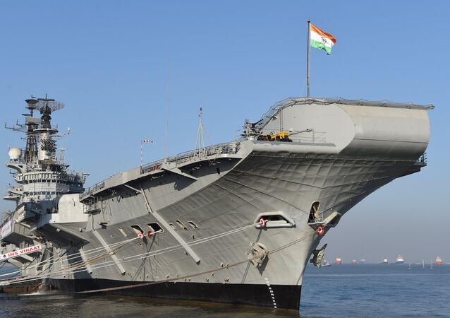 Viraat da Marinha indiana, porta-aviões mais antigo do mundo