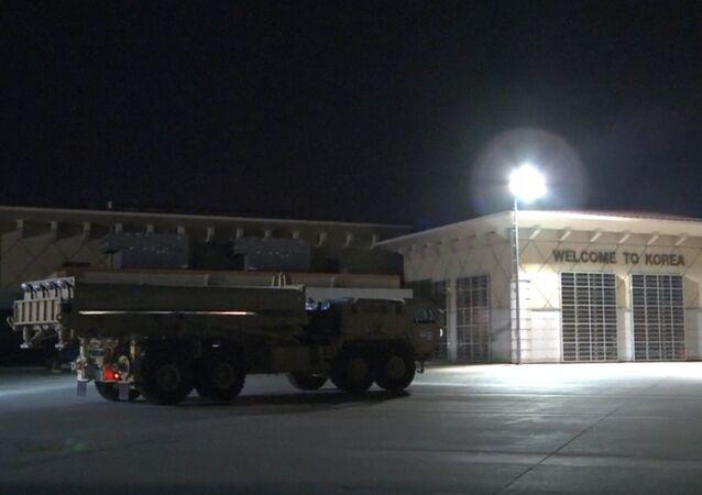 EUA istalam sistema antimíssil THAAD na Coreia do Sul