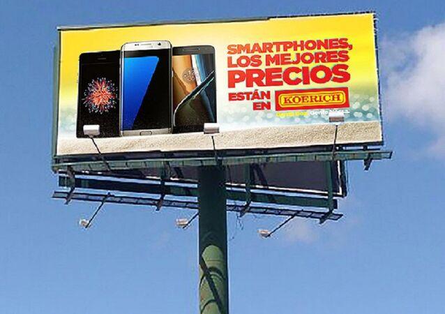 Rede de lojas de Santa Catarina fazem publicidade em língua espanhola