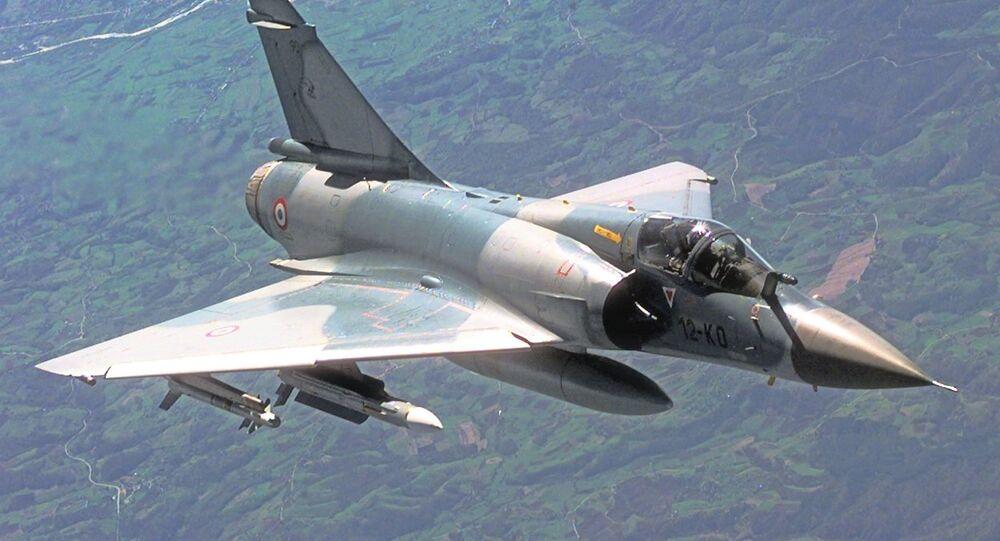 Mirage 2000C da Força Aérea da França