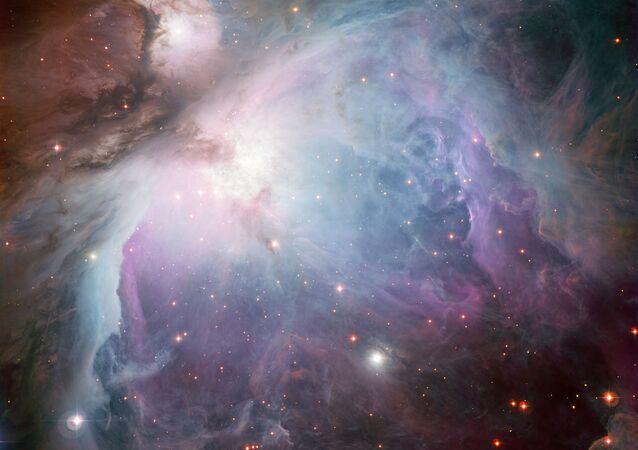 Nebulosa de Orion captada usando Wide Field Imager pelo telescópio MPG/ESO 2.2-metros do Observatório La Silla no Chile