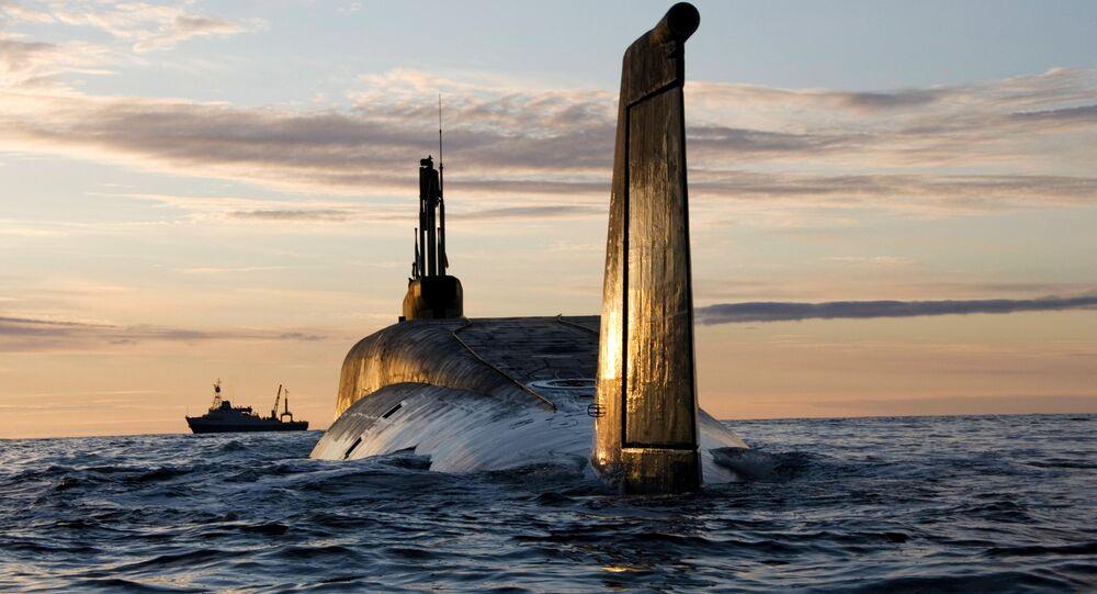 Submarino nuclear Yury Dolgoruky